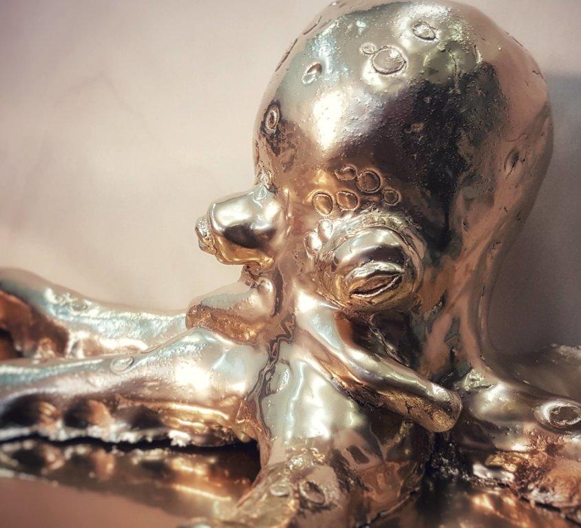 Octopus model od gline